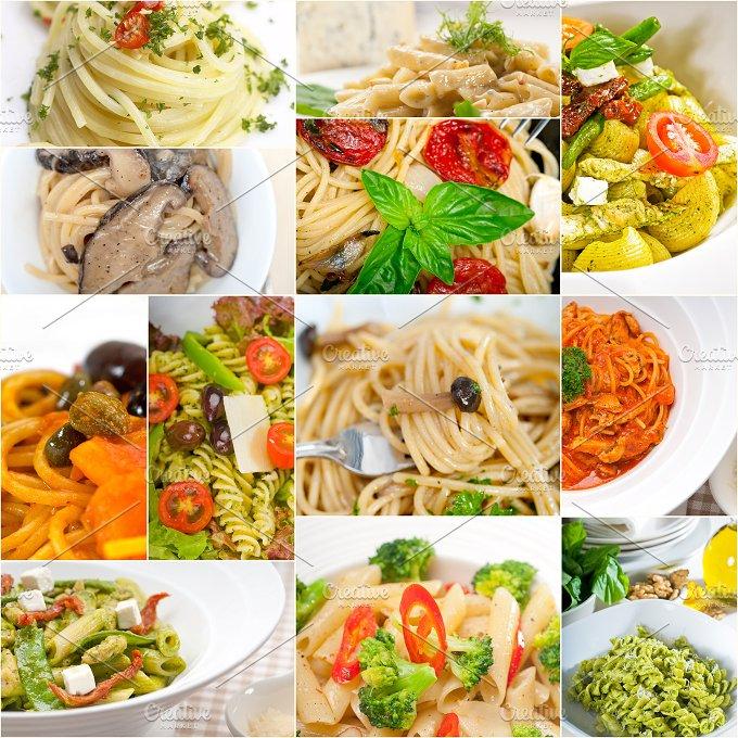 Italian pasta collage 9.jpg - Food & Drink