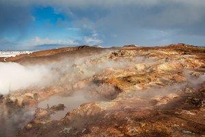 Geothermal hot springs Iceland