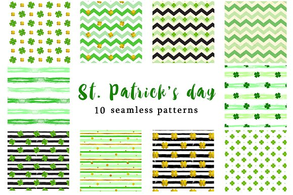 Patterns For St Patrick's Day