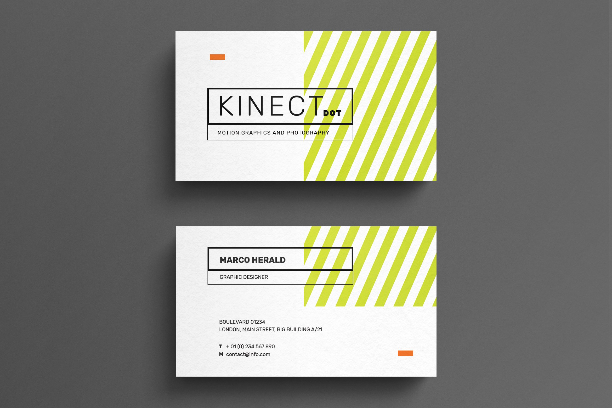 Minimal Business Card Template ~ Business Card Templates ~ Creative ...