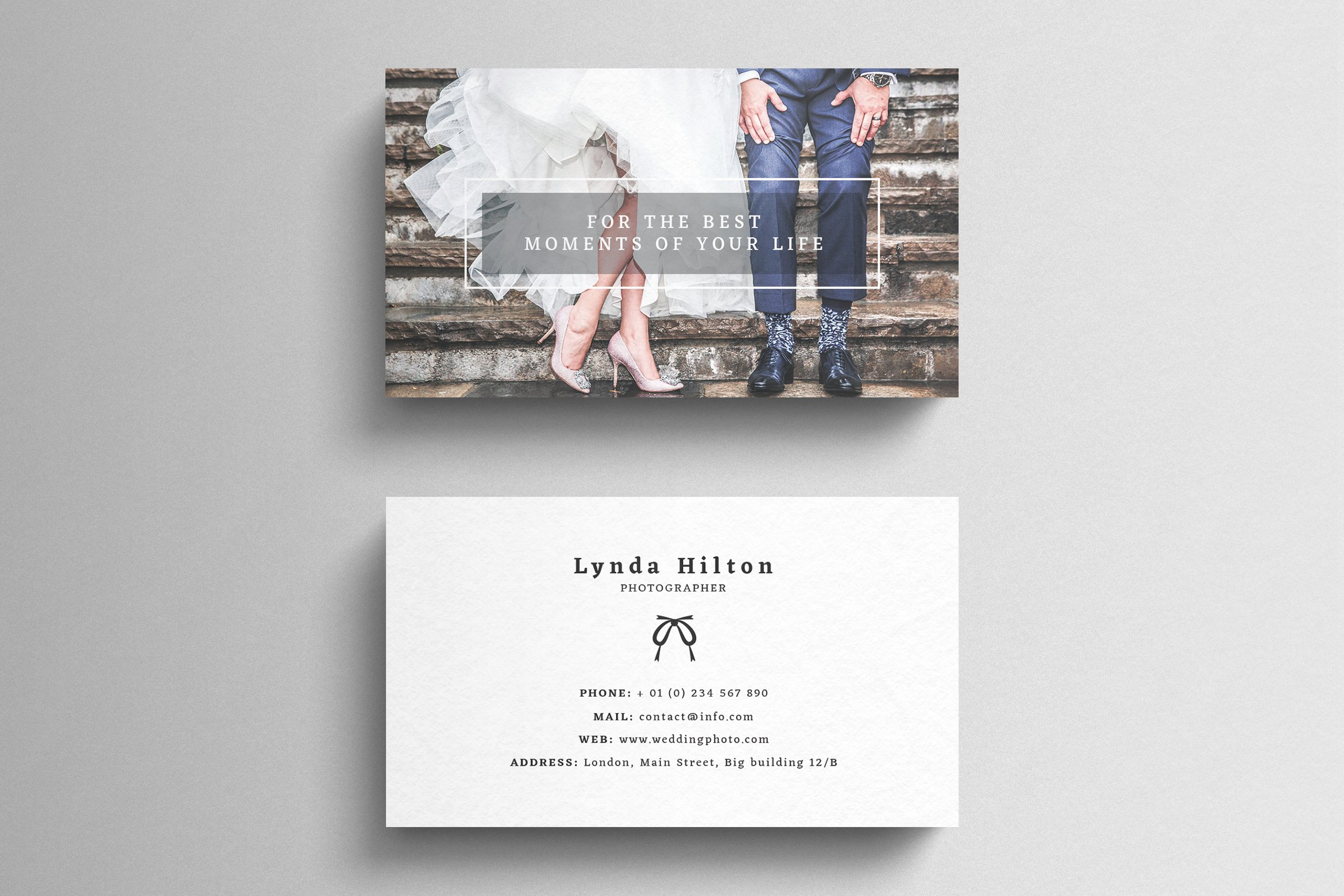 Wedding Photography Business Card ~ Business Card Templates ...