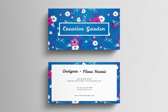 Fl Business Card Template Cards