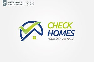 Check Homes Logo