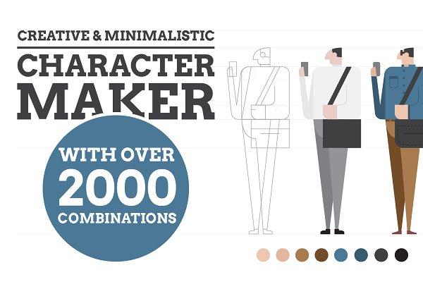 Portrait & Character Creator ~ Illustrations ~ Creative Market