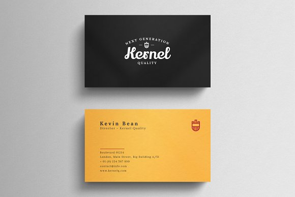Minimal Business Card Cards