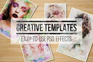 2 Creative Portrait Templates