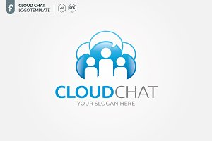 Cloud Chat Logo