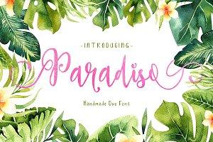 Paradiso - Fonts Duo