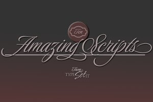 10 Amazing Script Fonts