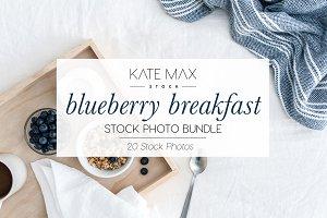 Blueberry Breakfast Stock Bundle