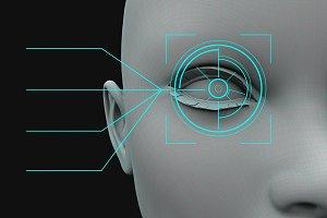 identity recognition eye