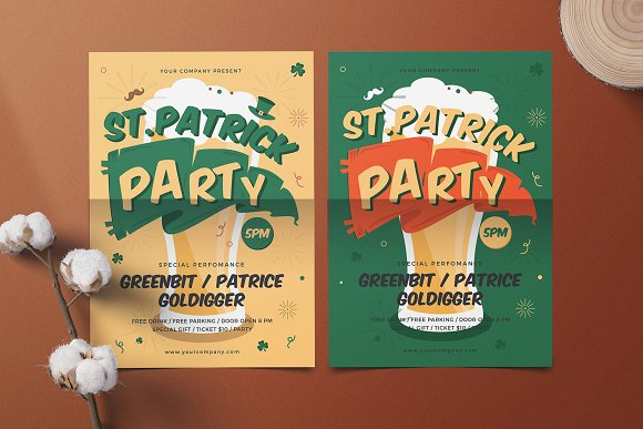 St.Patrick's Party Flyer