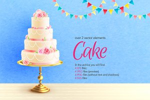 Wedding Cake Set