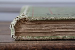 Antique Vintage Book and Pages
