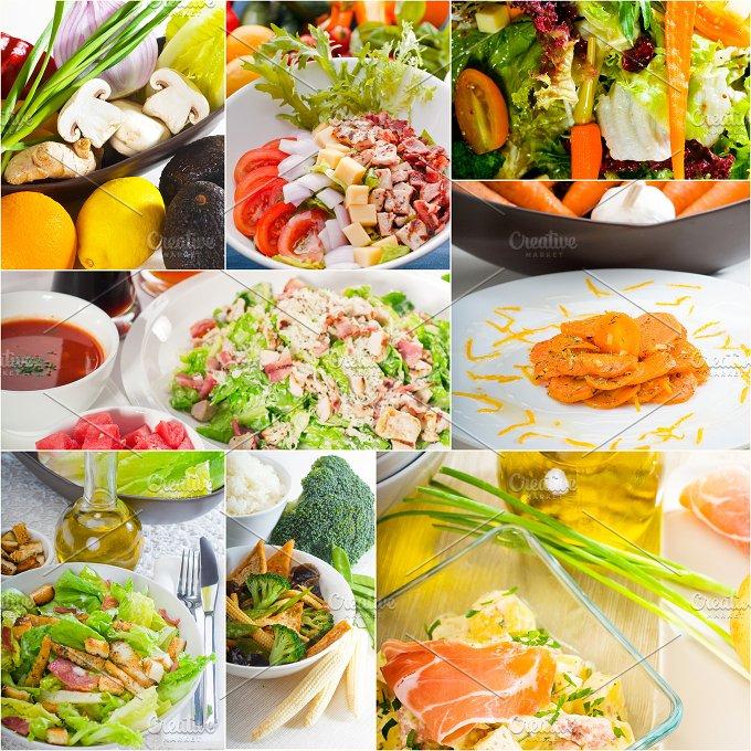 mixed salad collage 9.jpg - Food & Drink