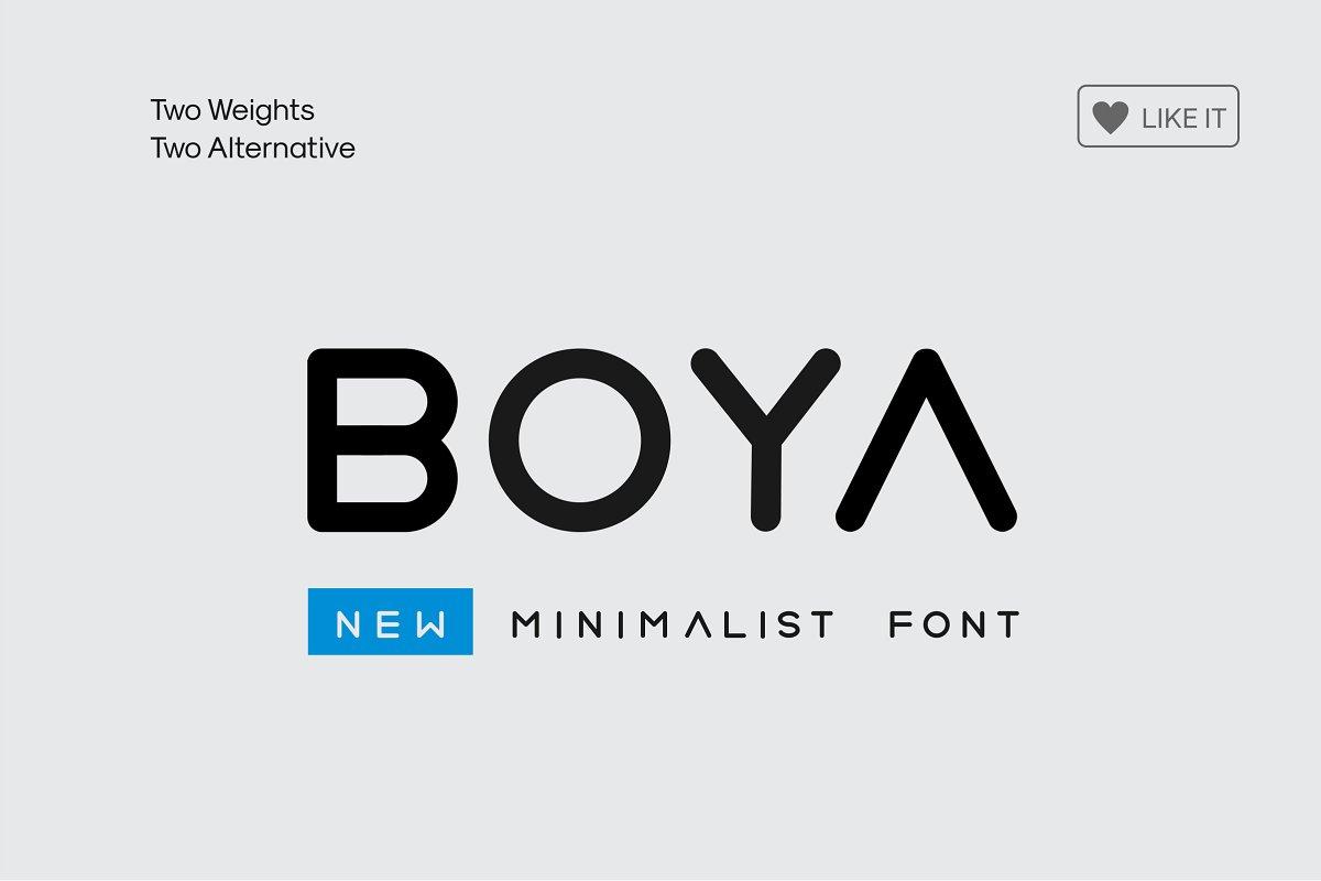 Boya Rounded Font Stunning Sans Serif Fonts Creative Market