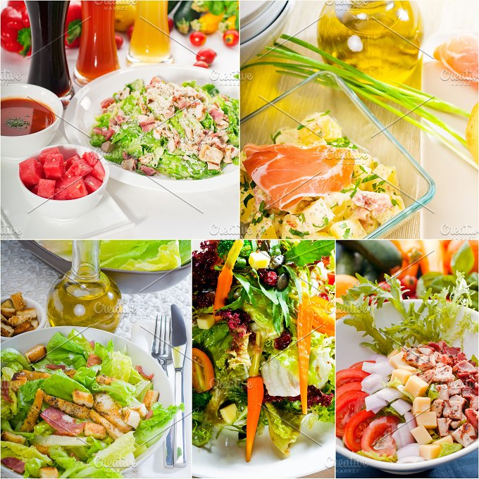 mixed salad collage 17.jpg - Food & Drink