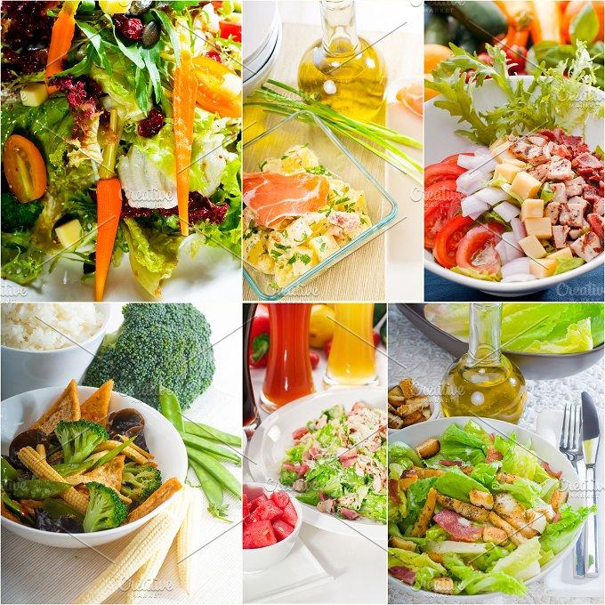 mixed salad collage 11.jpg - Food & Drink