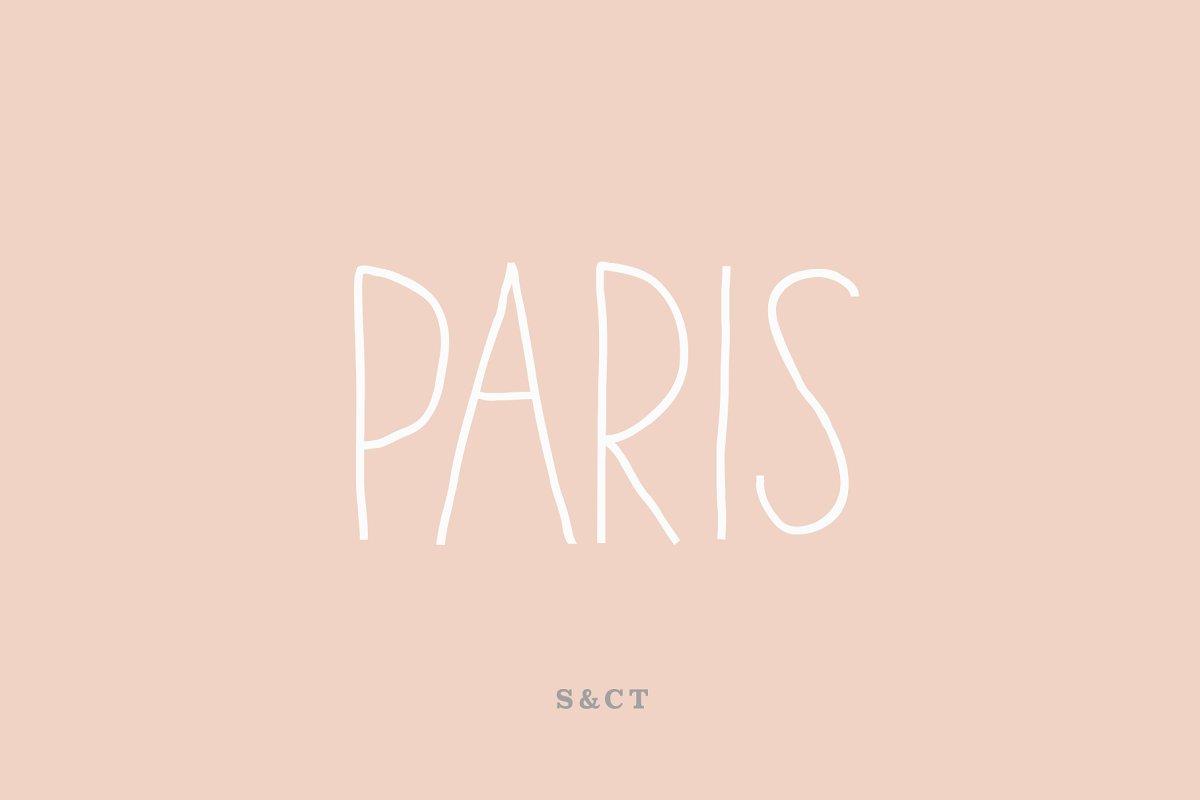 Paris Font Pack ~ Sans Serif Fonts ~ Creative Market
