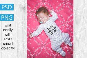 Baby Onesie Product Mockup