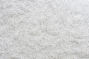 Texture of fluffy snow crystals