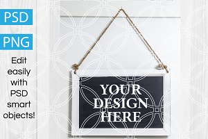 Chalkboard Product Mockup