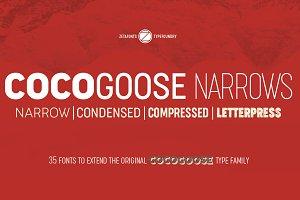 Cocogoose Narrows - 35 Fonts