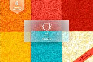 Award Line Tile Patterns