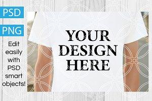 Unisex T-Shirt Product Mockup