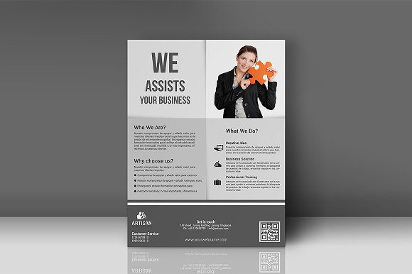 Business Flyer in Flyer Templates - product preview 5