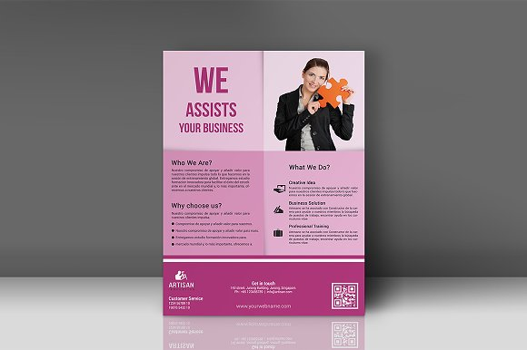 Business Flyer in Flyer Templates - product preview 2
