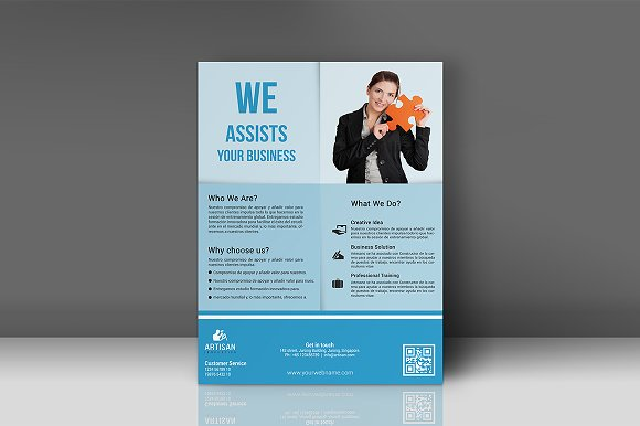 Business Flyer in Flyer Templates - product preview 1