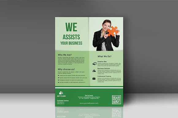 Business Flyer in Flyer Templates - product preview 3