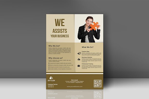 Business Flyer in Flyer Templates - product preview 4
