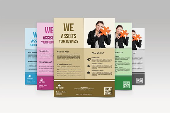 Business Flyer in Flyer Templates - product preview 6