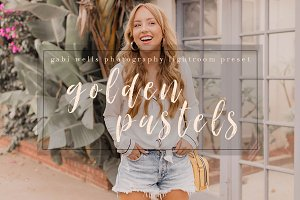Golden Pastels Blogger Preset