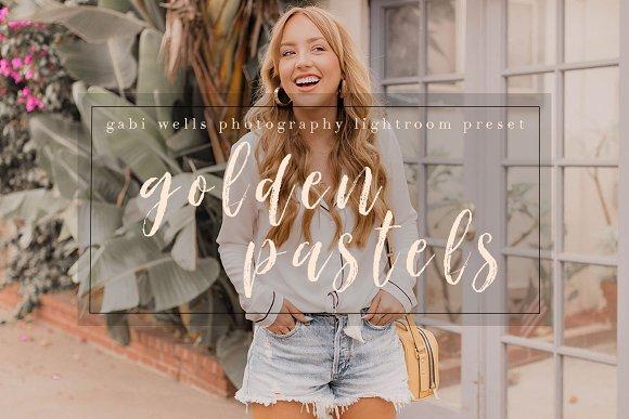 Golden Pastels Blogger Preset