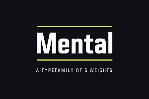 Mental Typefamily