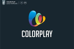Color Play Logo