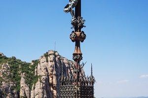 Montserrat Abbey, Catalonia, Spain: