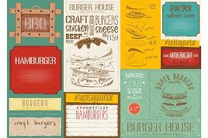Burger Placemat Menu
