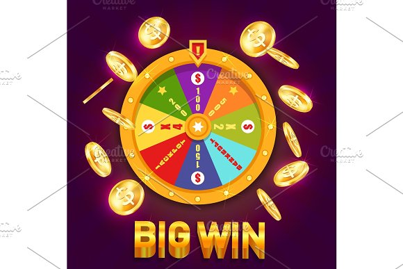 Wheel Of Fortune Or Spinning Wheel For Casino