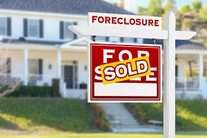 Foreclosure Sold Real Estate Sign