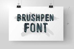 Brushpen Font