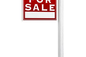 Foreclosure Real Estate Sign