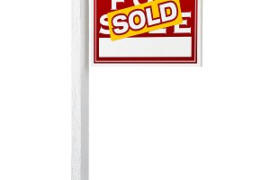 Sold Foreclosure Real Estate Sign