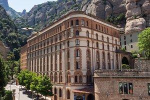 Montserrat, Catalonia, Spain - June