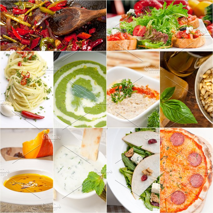 tasty and healthy food collage 1.jpg - Food & Drink