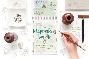 Mapmakers Font Bundle