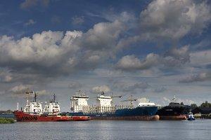 Merwede Harbor in Dordrecht